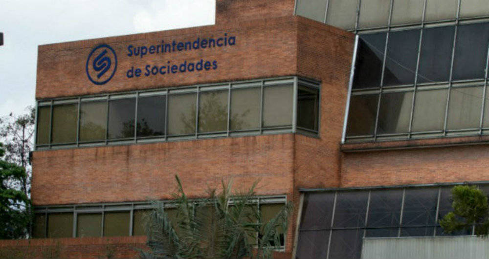 Fachada Superintendencia de Sociedades