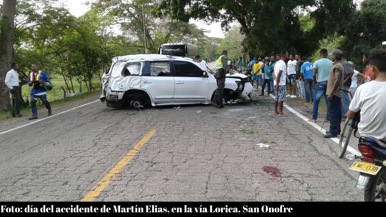Accidente Martin Elias