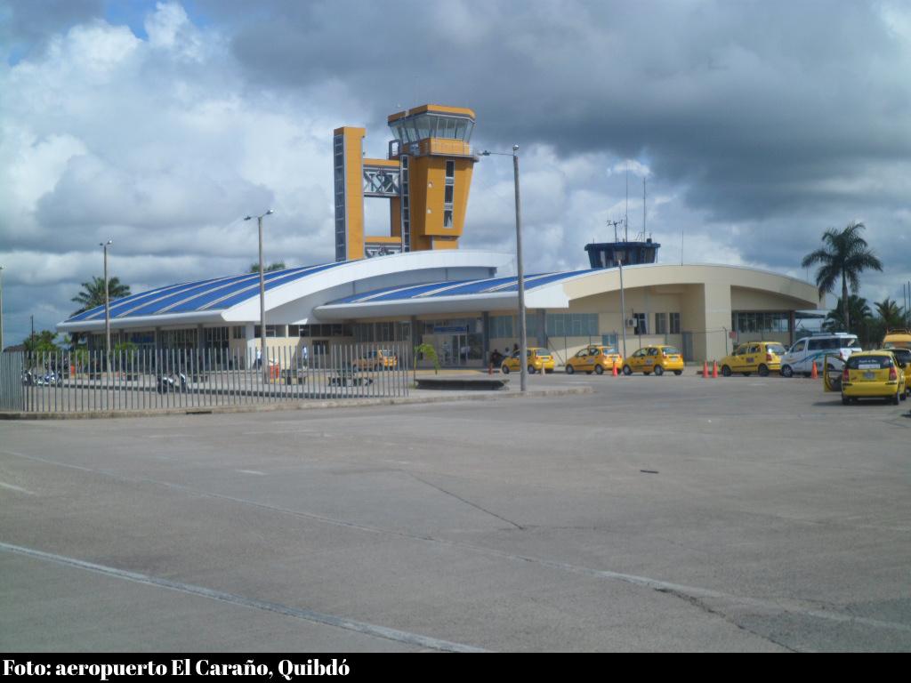 Aeropuerto Quibdó, incautación de droga en 2018