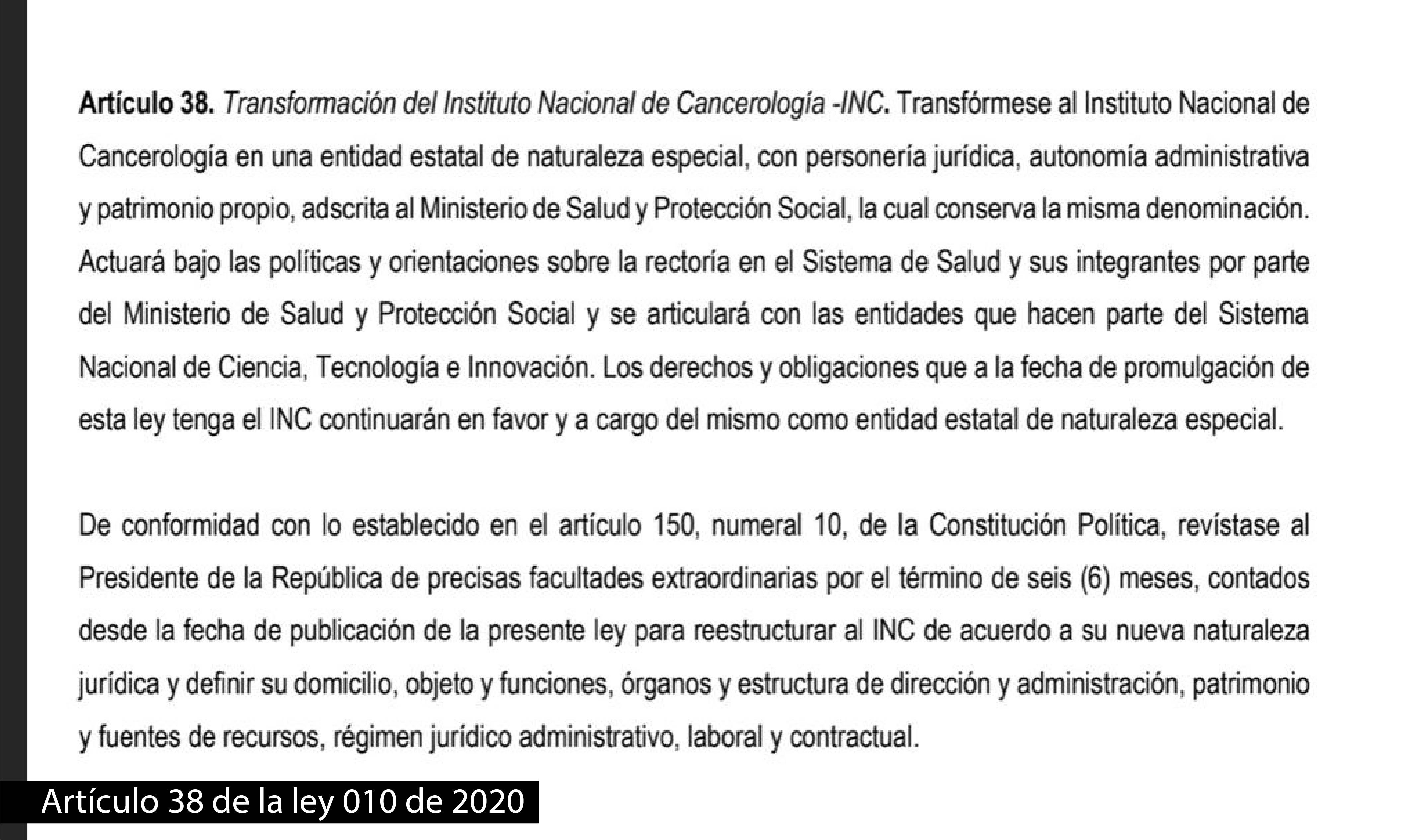 Articulo 38