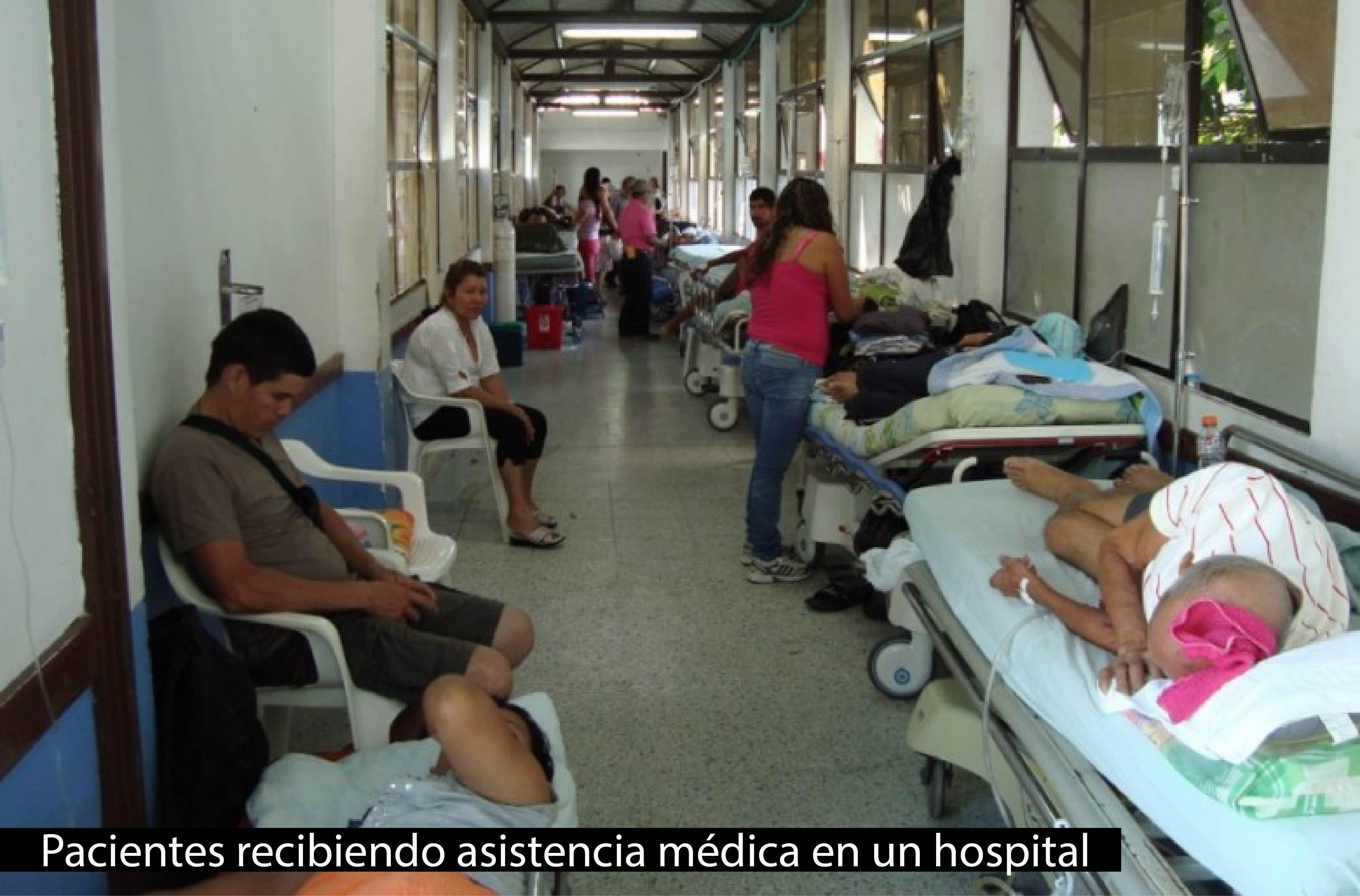 Pacientes en hospital