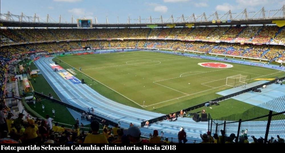 Partido Selección Colombia Barranquilla