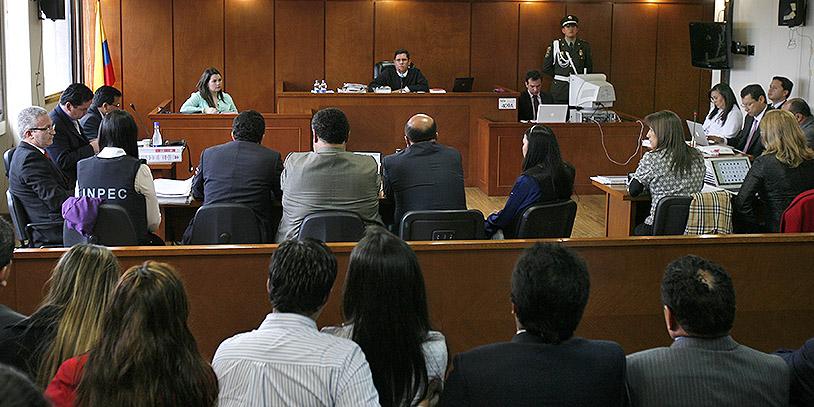 Audiencia caso Colmenares